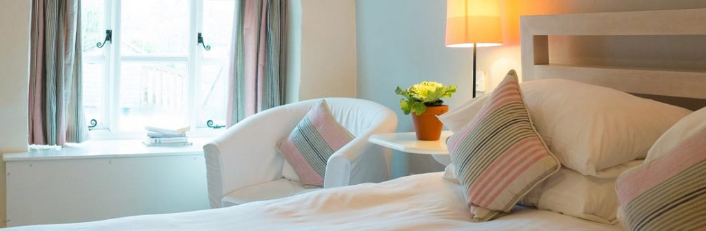 Comfortable, charming accommodation at The Rose and Crown in Snettisham on the Norfolk coast